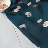 COUPON 75cm Atelier Brunette - Moonstone Green (Viscose) _