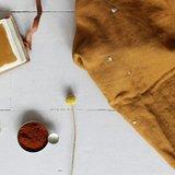Atelier Brunette - Stardust Ochre (double gauze) €22,50 p/m_