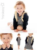 Minikrea Ruffle dress 0-10 jaar 50025_