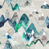 COUPON 130cm! Ansje Handmade - Call of the mountain - Esther Fallon Lau €24 p/m_