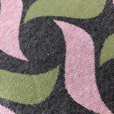 AlbStoffe - Hamburger Liebe - Botanical plait (grey/green/pink) €26,50 p/m GOTS_