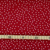 Stoffonkel - Dotties Cherry €21,80 p/m GOTS_