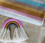Lillestoff -  Paneel Rainbow moop jersey per 45cm €9 p/s GOTS_