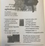 Vlieseline Soluvlies 45cm breed €2,65 p/m_