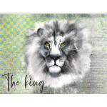 Lillestoff -  Paneel The King 78cm €16 p/m jersey GOTS_