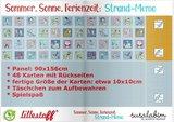 Lillestoff -  Memory Paneel 90cm €19,50 p/s summersweat GOTS_