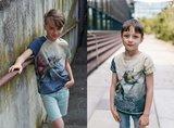 Lillestoff -  Paneel Dino 1 80cm jersey €17,50 p/s GOTS_