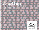 Lillestoff -  Stripe rosa modal sweat €21 p/m GOTS_