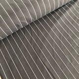 Laatste meter! Polytex Organics - Grey striped (GOTS) €16,50_