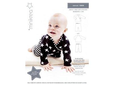 Minikrea Baby Overslagshirt 0-9mnd 10404