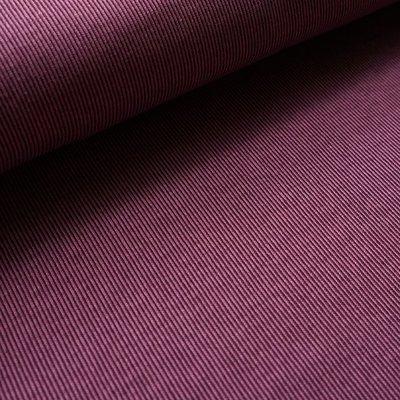 Stoffonkel - Organic Jacquard Stripe Pattern Plume €23,80 p/m GOTS