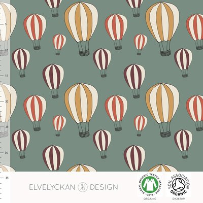 Elvelyckan  - Airballoon €25,50 p/m stretch college (GOTS)