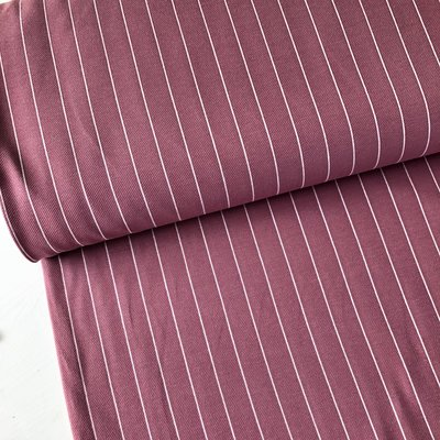 Polytex Organics - Dusty pink striped (GOTS) €16,50
