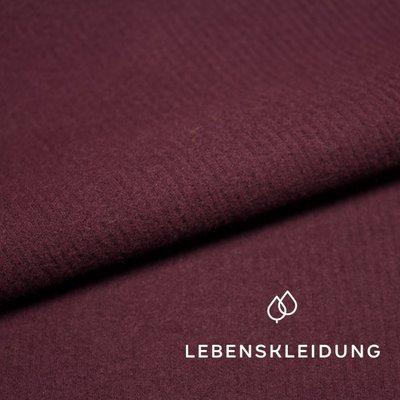 Lebenskleidung - Maroon Corduroy Sweat €24,90 p/m GOTS
