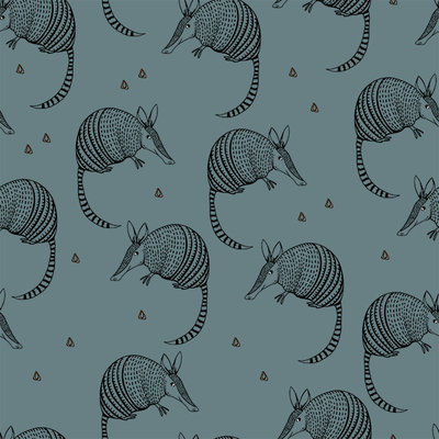 Bloome CPH - Armadillo - oil blue - jersey  €23 p/m