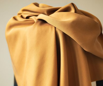 meetMilk - Tencel Sanded TWILL MUSTARD €25,90 p/m