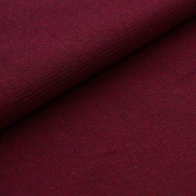 Stoffonkel - Organic Jacquard Stripe Pattern Cherry €23,80 p/m GOTS