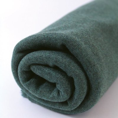 Boordstof green melange 160 cm breed