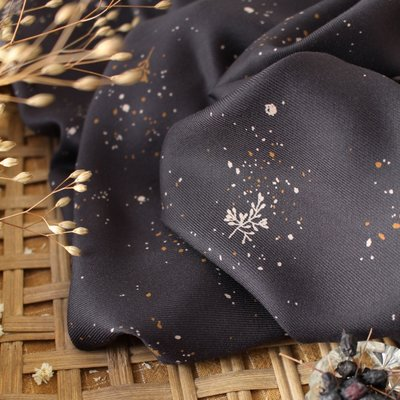 Atelier Brunette - Twig Night (Viscose twill)