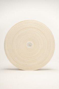 Charle - 40mm ecru Bio elastiek