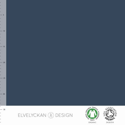 Elvelyckan  - Dark blue Boordstof €19 p/m (GOTS)