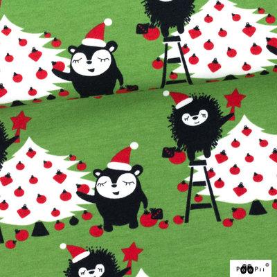 Laatste meter! Paapii - Christmas tree jersey €24 p/m GOTS