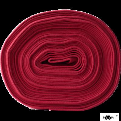 Paapii - Boordstof Rood €19,50 p/m GOTS