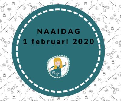 Ticket 1 februari 2020 Naaidag UITVERKOCHT