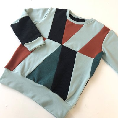 VOL! Zondag 26 januari 2020 Workshop kids sweater met vlakken