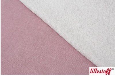 Lillestoff - Sherpa Dusty pink melange €23,80 p/m GOTS