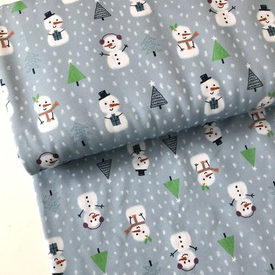 Lillestoff - Snowmen summersweat/french terry €21,80 p/m GOTS