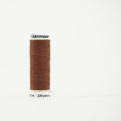 Gutermann 478 zandbruin - 200m