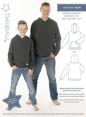 Minikrea Sweatshirt boys/men 66240