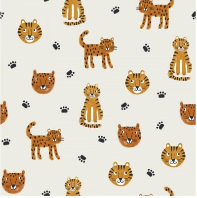 Week 12 jan Lillestoff - Jungle cats jersey €21,80 p/m GOTS