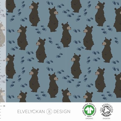 NEW 13 jan Elvelyckan  - Bear blue €24 p/m jersey (GOTS)