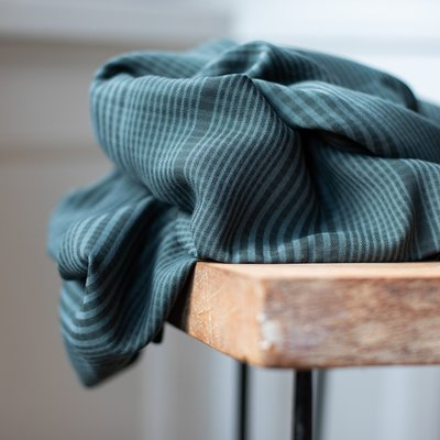 meetMilk - Plaid Deep Green met TENCEL™ Lyocell vezels €25,90 p/m