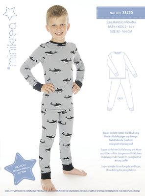 Minikrea Pyjama 2-14j / 92-164 33470