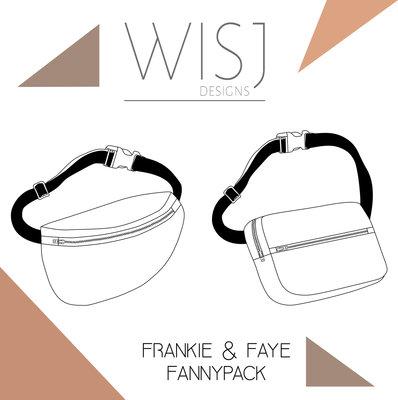 WISJ - Frankie & Faye fannypack €12