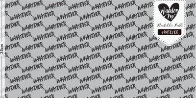 Lillestoff - Whatever grijs jersey €21,30 p/m GOTS