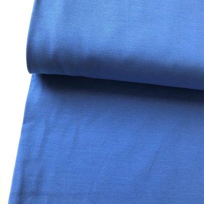 COUPON 120cm Polytex Organics - Ice blue jeans jersey (GOTS) €16