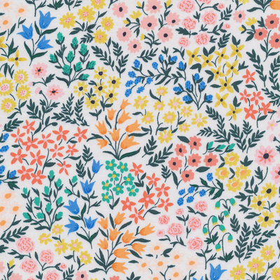 Cloud 9 - Wild Flower - Meadow €23,90 p/m (cotton sateen)