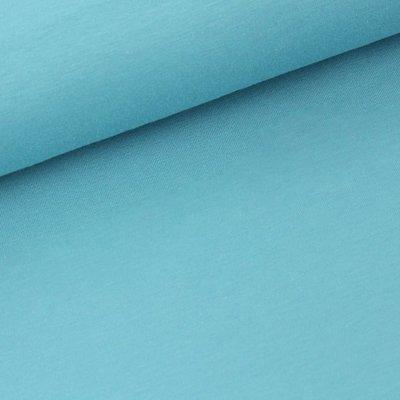 COUPON 60 CM Stoffonkel Solid stillwater JERSEY - €16,80 p/m GOTS