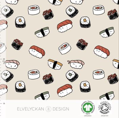 Elvelyckan  - Sushi €24 p/m jersey (GOTS)