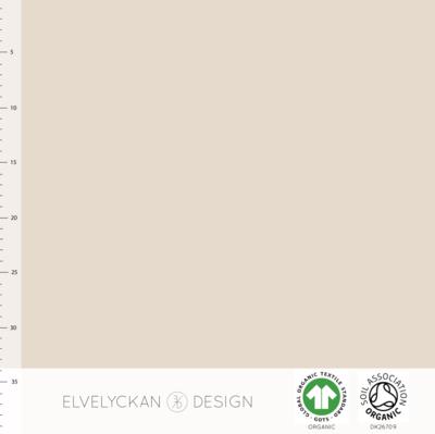 Elvelyckan  - Creme Boordstof €19 p/m (GOTS)