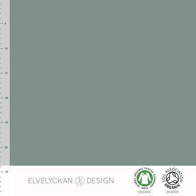 Elvelyckan  - Green solid €20 p/m jersey (GOTS)