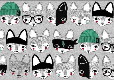 Verson Puoti - Detective fox €24 p/m jersey (GOTS)