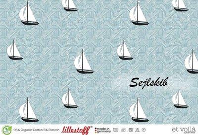 Lillestoff - Zeilboot jersey €21,30 p/m GOTS