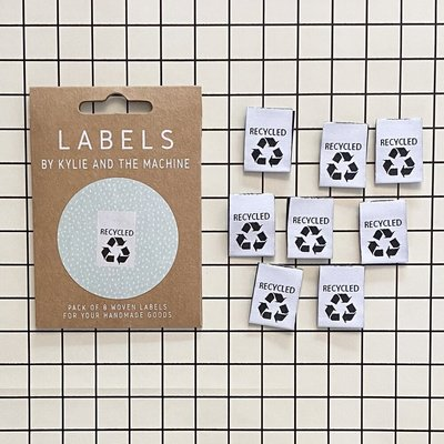 KYLIE & THE MACHINE - RECYCLED 8 labels €6,50 per set