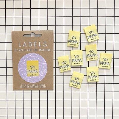 KYLIE & THE MACHINE - YO MAMA 8 labels €6,50 per set