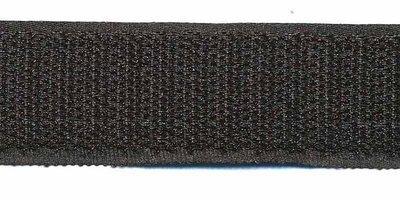 Klittenband zwart 25mm €0,95 p/m